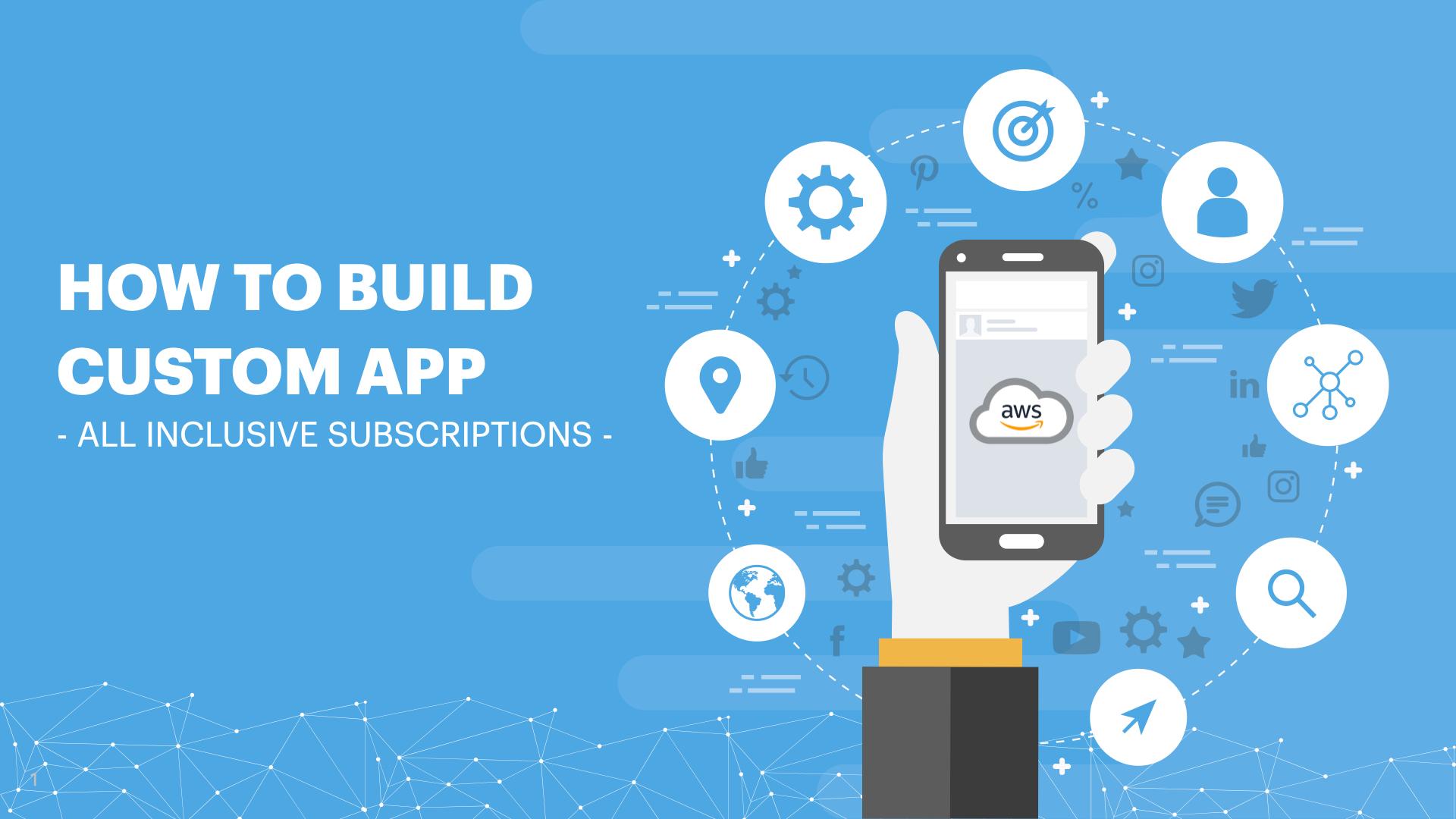 aws cloud app development