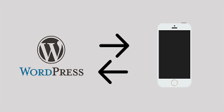 wordpress as mobile backend