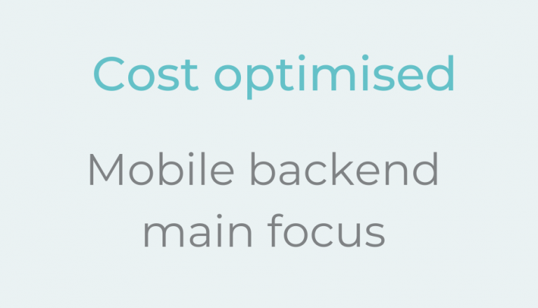 cost optimisation